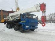 Автомобильные краны 50т КС-65717
